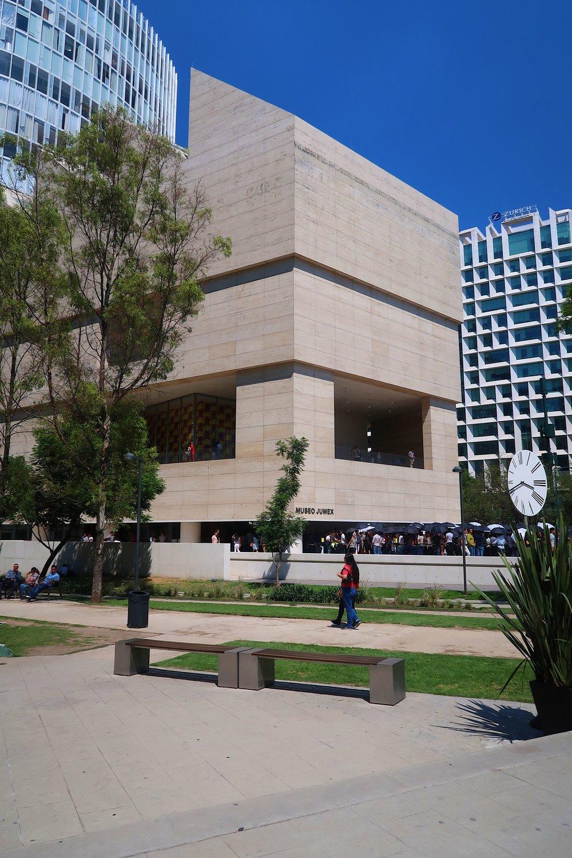 Conveniently located next door is Museo Jumex.
