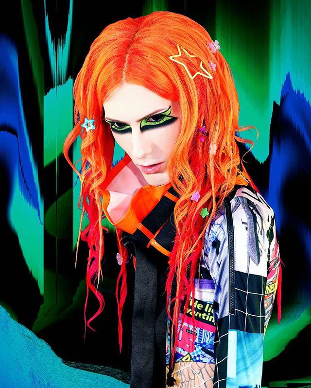 Simon (g) @simonbataar ______________ BATAAR  NEW SINGLE & MUSIC VIDEO 「GHOSTMODERN[ism]」 RELEASE 2019.03.09 ______________ Photo & Styling: @emelielagerphoto Hair & Make-up: @lolikalou