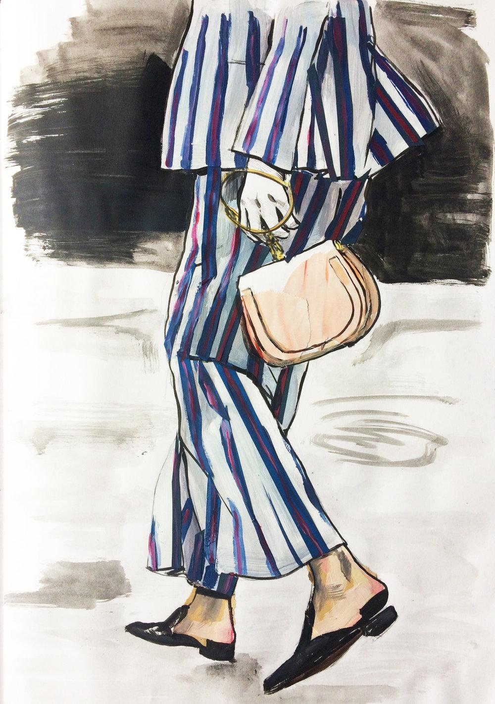 pyjama stripe styling sketch selfishwardrobe.jpg