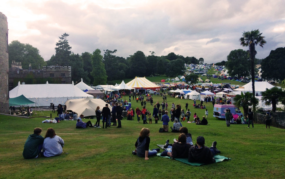 port Eliot festival 2017 - the calm before the storm