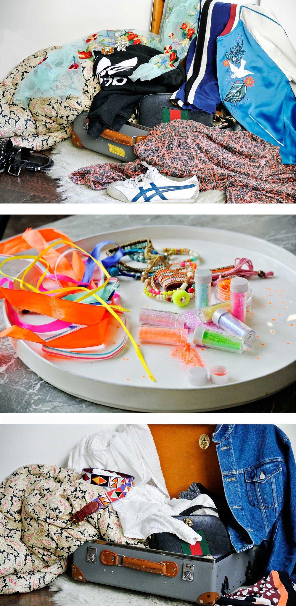 Port Eliot festival packing - selfish wardrobe
