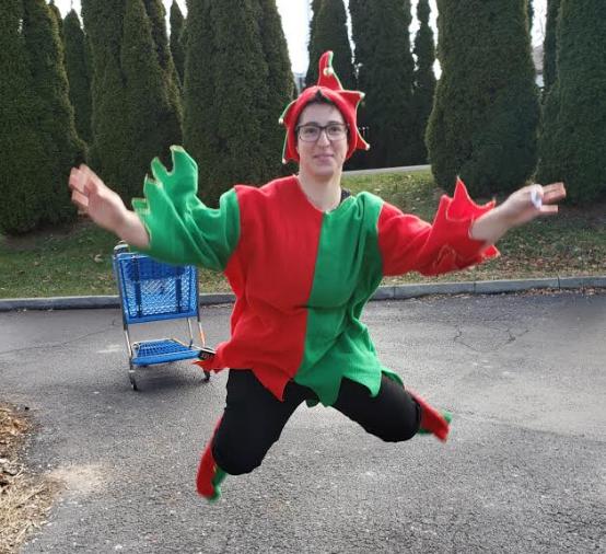 Hannah! Our Finest Elf!!