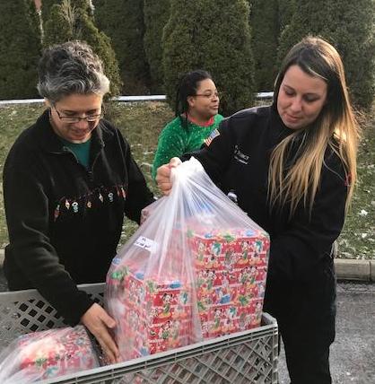Donations from Mercy Allen Hospital in Oberlin