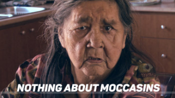 "A FILM BY EDEN MALLINA AWASHISH ""THERE WILL BE NO FILM ON MOCCASINS""."