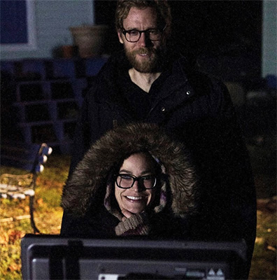 Dogged  filmmakers Nicole Steeves and Struan Sutherland