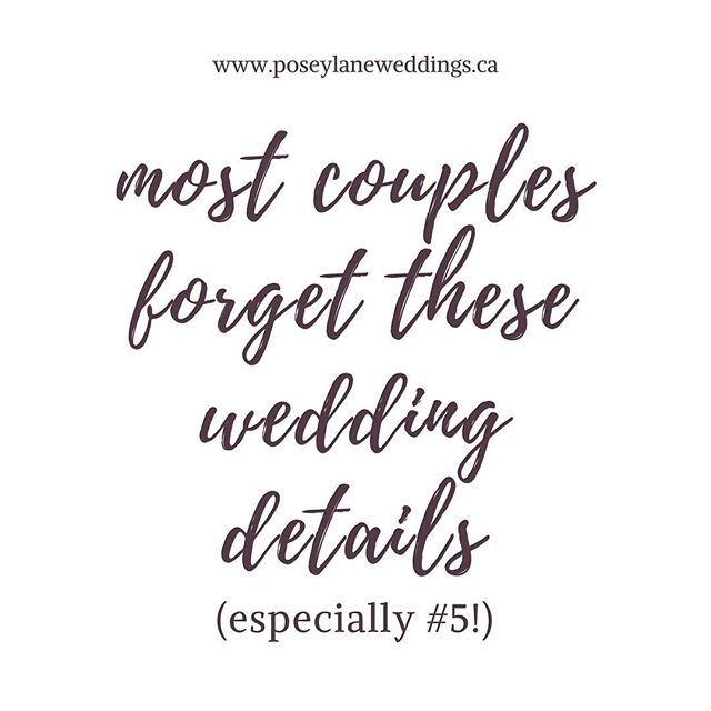 So many details. So little time. It's no wonder the simplest of things get overlooked. Be sure to add these five things to your To-Do List! Just go to the link in bio to find out what they are.  #yyc #calgaryweddings #yycweddings #weddingplanning #tyingtheknot #yycweddingphotographer #yycweddingplanner #calgarywedding