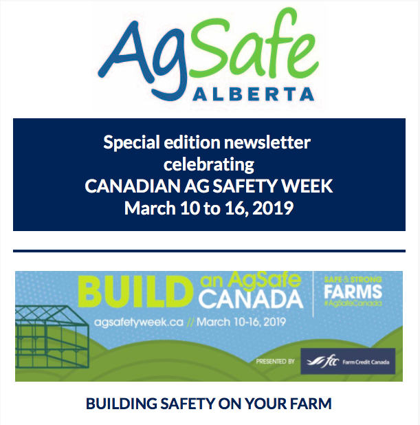2019 Ag Safety Week