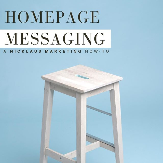 "👉 Tips and Tricks from the desks of Nicklaus Marketing: ⠀⠀⠀⠀⠀⠀⠀⠀⠀ 💡 CRAFTING YOUR HOMEPAGE MESSAGING 💡 ⠀⠀⠀⠀⠀⠀⠀⠀⠀ One of the best (or worst) first impressions that you can make is with the homepage of your website. When people visit your URL, it very likely may be their first interaction with your brand and that makes it vital that it is a positive one. ⠀⠀⠀⠀⠀⠀⠀⠀⠀ A website's homepage sets the stage for the entire brand. It should communicate your brand values clearly, portray your service or product differences distinctively, and show lifestyle cohesion. When done correctly, this will plant the seeds of loyalty and convert only interested buyers into strong brand advocates 🤝 ⠀⠀⠀⠀⠀⠀⠀⠀⠀ So where to start? 🤔 Begin with a clear visualization of your brand. Descriptive photography that carries the proper look and feel of your product/service can go a long way in creating a strong initial impression 📸 ⠀⠀⠀⠀⠀⠀⠀⠀⠀ Following visualization should be the written out essential aspects of your brand. This includes who you are, what you offer, why you do what you do, and why you are different. All homepage info should be clean and concise, and written in the ""voice"" that you believe best represents your brand 🗣 ⠀⠀⠀⠀⠀⠀⠀⠀⠀⠀⠀⠀⠀⠀⠀⠀⠀⠀ ⠀⠀⠀⠀⠀⠀⠀⠀⠀ The homepage is a GREAT  place to include strategic calls-to-action. Each CTA button included on this page should immerse the viewer deeper into the site, rather than leading them away from the site at any point. The less clicks that someone needs to take to get the information or to perform the action they want, the more likely they are to actually carry out that final action and leave your website satisfied 👌 ⠀⠀⠀⠀⠀⠀⠀⠀⠀ Interested to learn more about how to craft your homepage messaging? Comment below or DM us! We're always here to help 😁 ⠀⠀⠀⠀⠀⠀⠀⠀⠀ #NMPR #Nicklaus #nicklausmarketing #trending #design #graphics #smallbusiness #business #grow #learn #branding #marketingagency #morristown #boutique #tips #tricks #photography #create #creative #inspired #inspo #fashion #modern #growth #organic #socialmedia #resource #strategy #webdesign #homepage"
