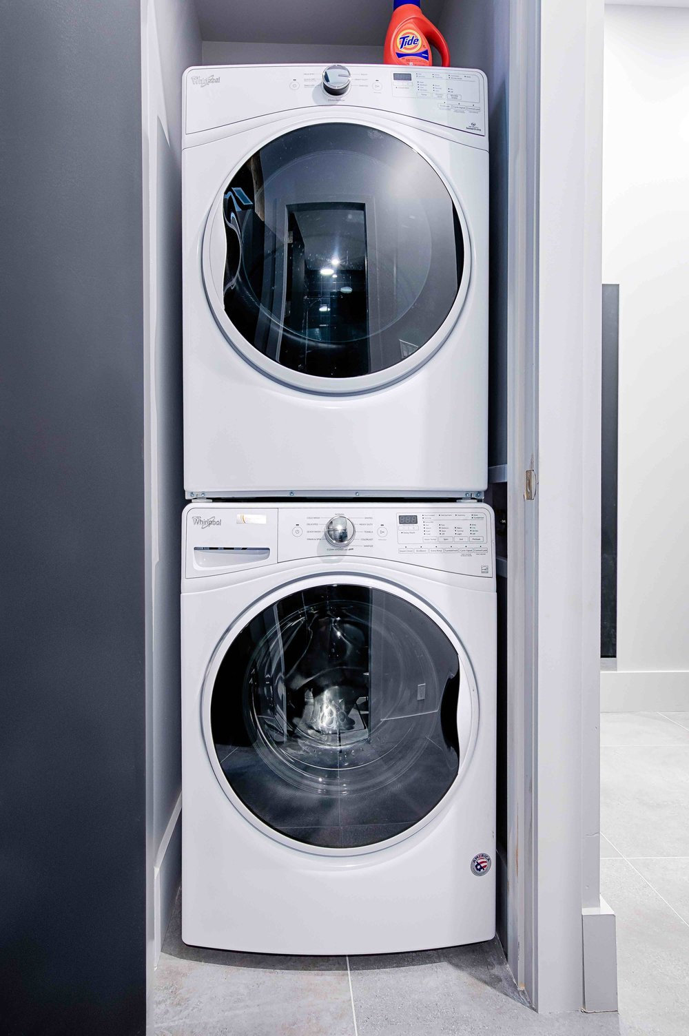 Laundry  WASHER AND DRYER IN EACH APARTMENT