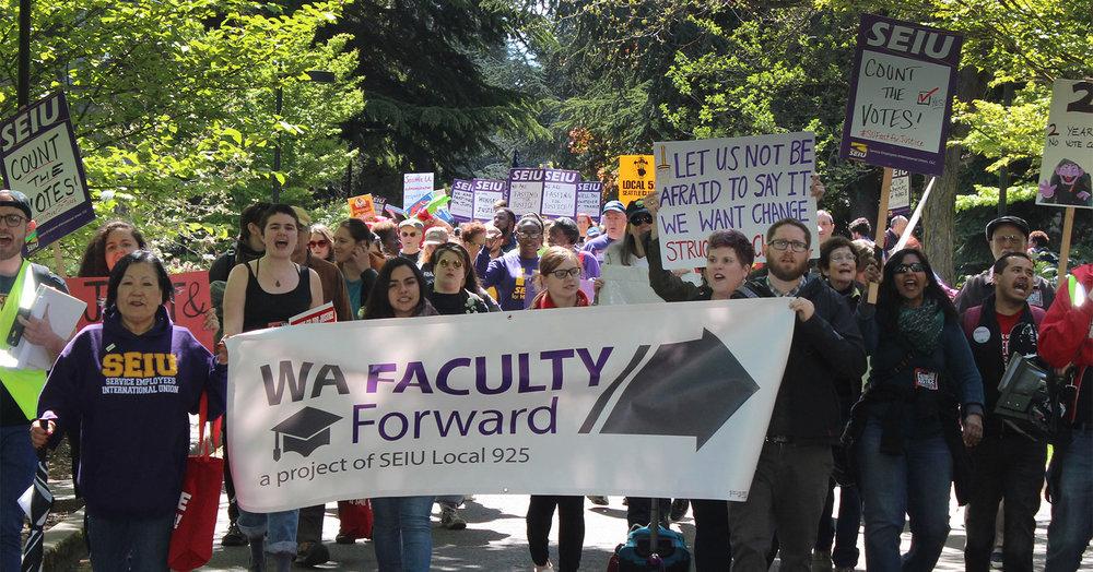 Seattle University Washington Faculty Forward
