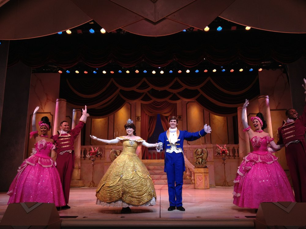 Beauty and the Beast live at Disney Studios .
