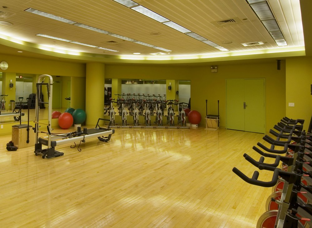 Group Fitness bright and airy