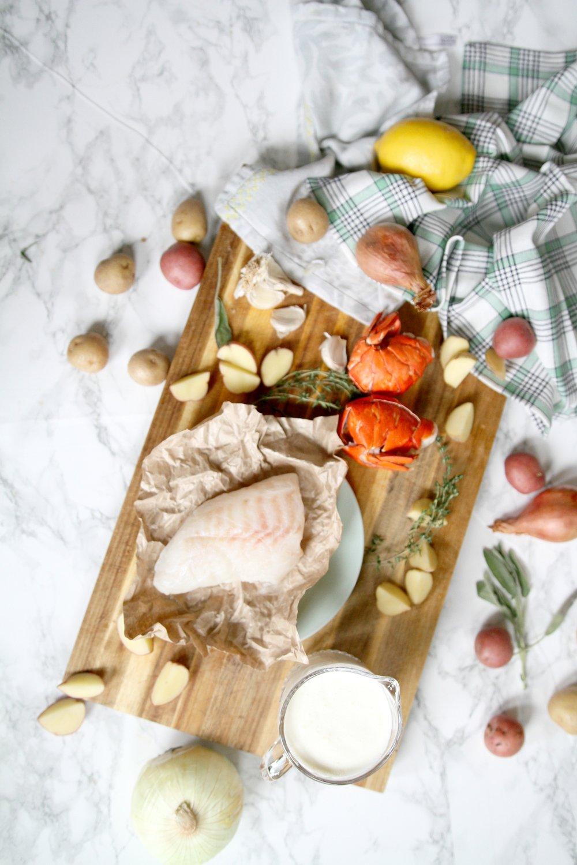 Fish Chowder | Cod & Herb