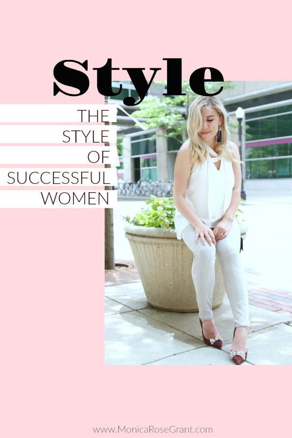 Defining the style of a successful woman. In a world where we have only first impressions left and the brand on the bottom of your shoe matters more than ever. How can we succeed without selling our souls to the demands of the world and still have confidence that comes from more than the clothes on our back.
