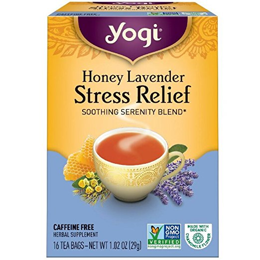 Yogi Tea Herbal Stress Relief, Honey Lavender - Tea is one of the most amazing drinks, its ability to heal you from the inside out! It can give you a jolt or help soothe you.