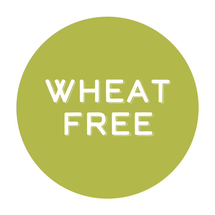 Those with wheat allergies need not feel left out! All of our sauces are stress-free since they're wheat free!