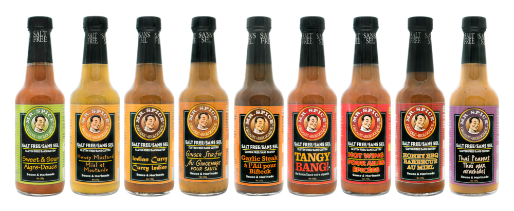 Mr. Spice Sauce Bottles