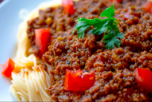 SPICY BOLOGNESE PASTA SAUCE