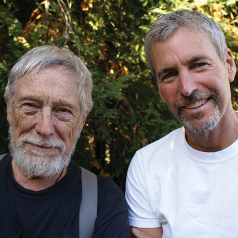 Gary Snyder, poet and Tom Killion, artist (Sierra FoodWineArt).png