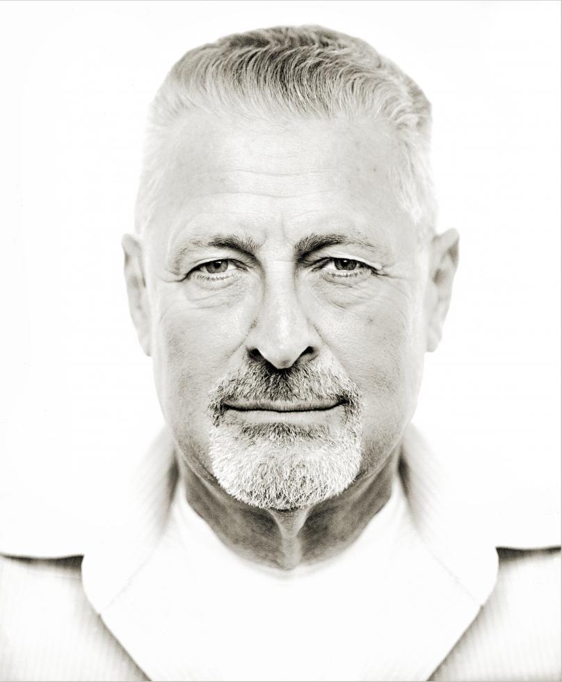 Michael Llewellyn, who runs the Image Nation program, took this photo of veteran Van Bogardus. (Photo courtesy Michael Llewellyn)