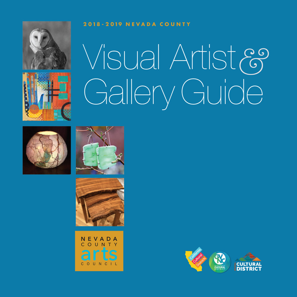 VIEW our 2018-2019 VISUAL ARTIST & GALLERY GUIDE -
