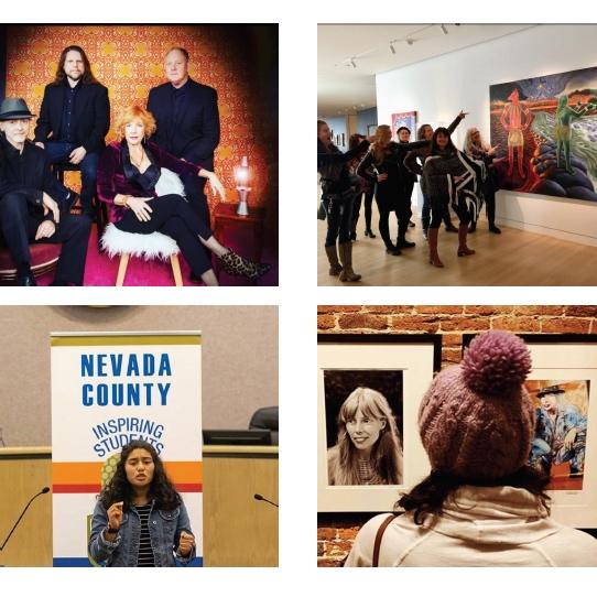 MAR 6 - Women's History Month, Julia Morgan and the North Star House, Artist Margaret Warner Swann Levine, Sierra Poetry Festival.