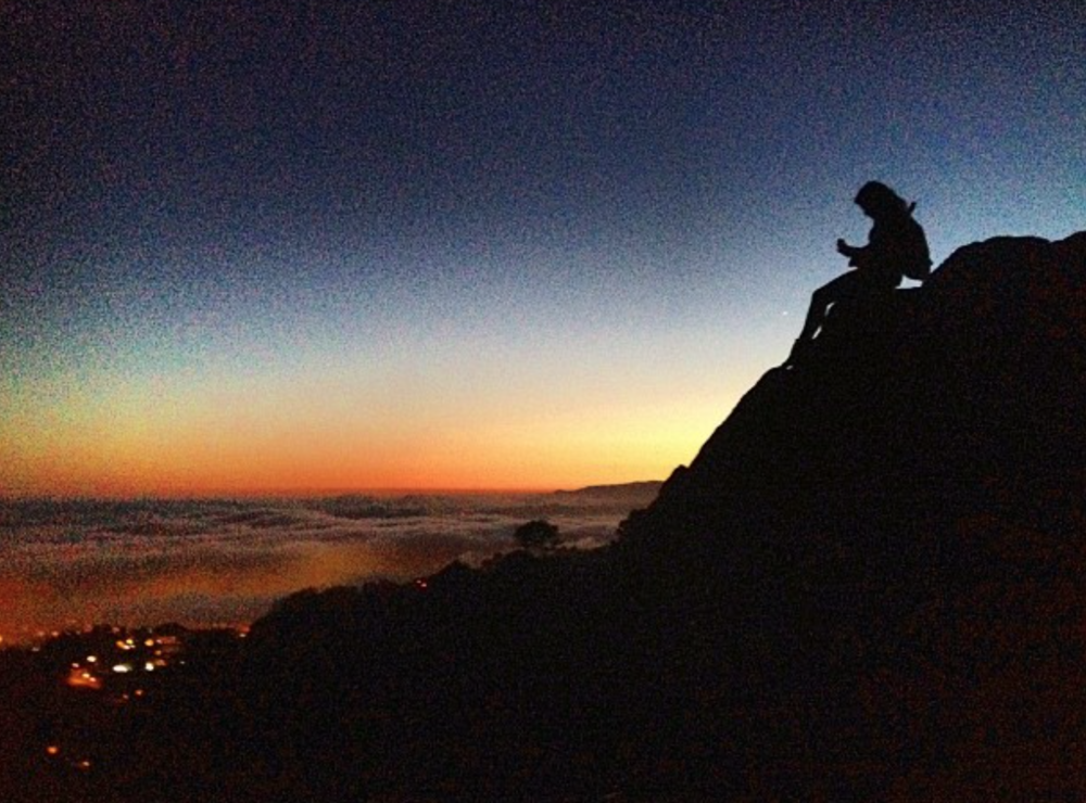 Above the Clouds - Grizzly Peak, Berkeley