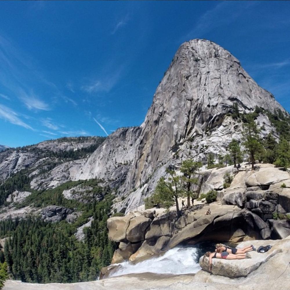 Half Dome - Vernal Fall trail, Yosemite