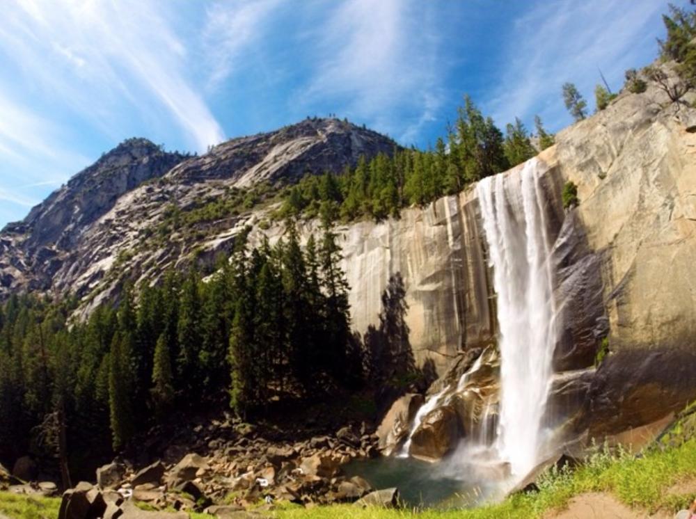 Vernal Falls - Yosemite