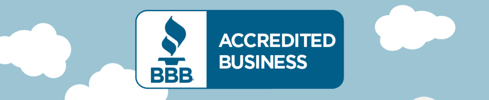 We are happy to announce that we are now BBB accredited!!!