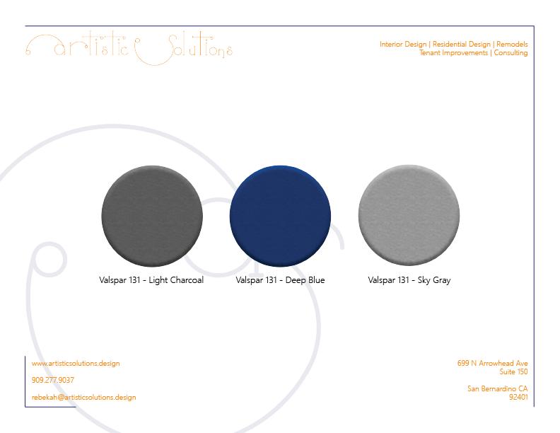 Let's Talk Color | Paint Color Palette