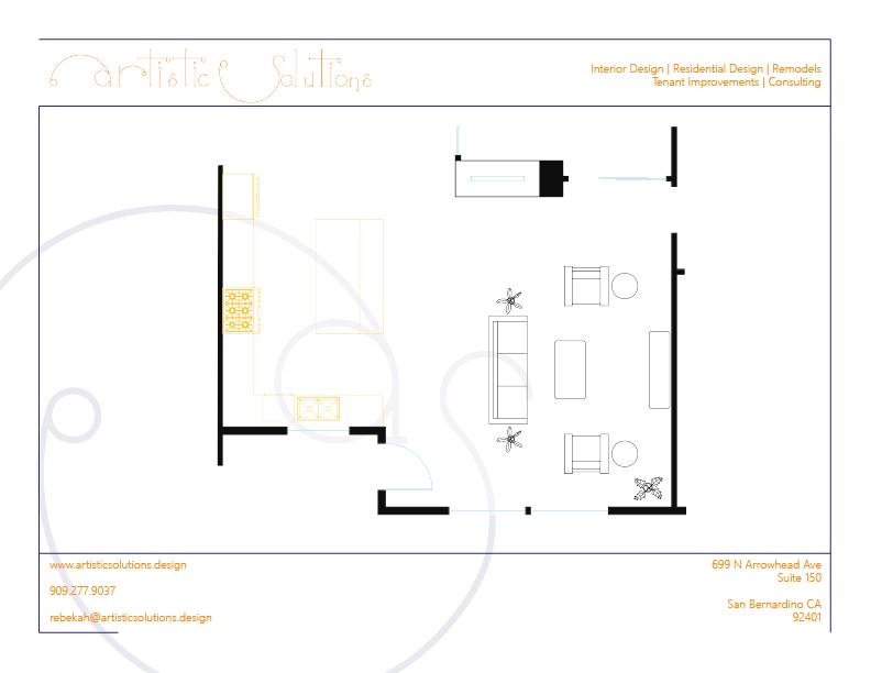 Time To Splurge | Floor Plan