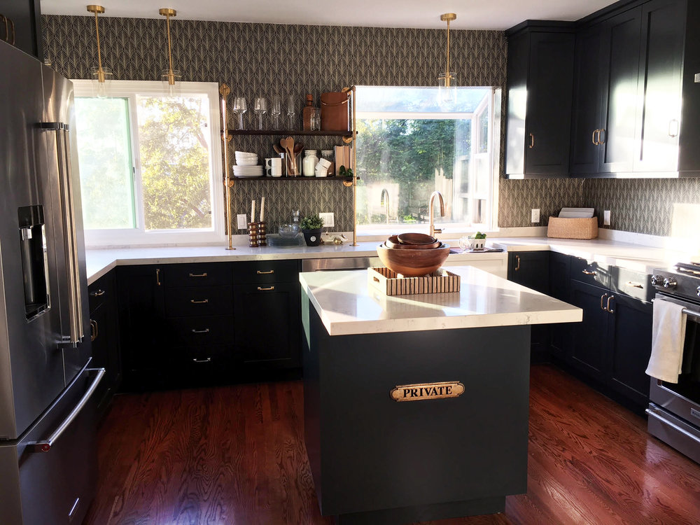 ECHO PARK KITCHEN REMODEL  HGTV Collaboration with  Gabrielle Santiago Design    *Photo Credit & Rights to GSD*  |  House Hunters Renovation S13 E2