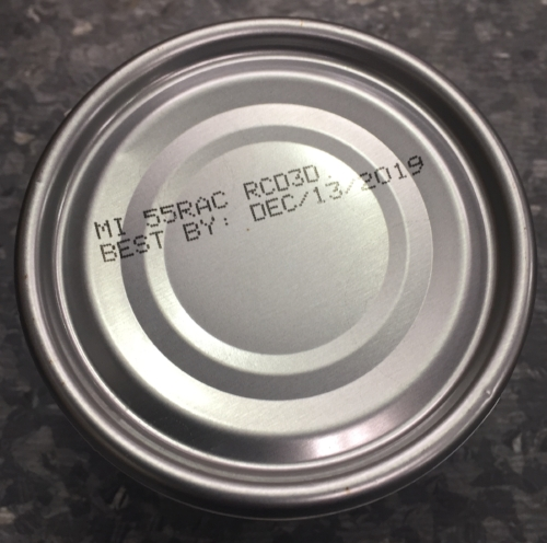 *Australian BFF cans are silver in color and their batch code & best by date is printed on two lines. Batch codes and Best By dates can be found on the bottom of can.