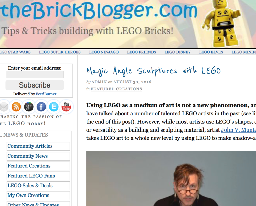 The Brick Blogger