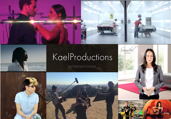 Vos productionsprofessionelles - Pubs, films, Clips, Interviews, Reportages, Voix off, Photos, Sites Internet, Evenements, Captations, rendez vous sur Kaelproductions…