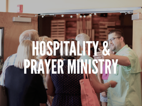 "One of the primary expressions of Jesus' life we see in scripture is His heart and willingness to be a servant to others. This is the primary reason why we, as ""the church,"" seek to serve and offer hospitality in His church. We welcome you to join us in serving one another and those who may be new to Vintage by becoming part of our hospitality team. Hospitality on Sunday mornings at Vintage includes greeting at the front door and the entrance to the sanctuary, making and cleaning up coffee, and praying for others after services by being a part of the prayer ministry team.  If you are interested in serving in the church and connecting with others here, we welcome you to join us. Click the button below let us know you're interested in being a part of this Sunday morning ministry."