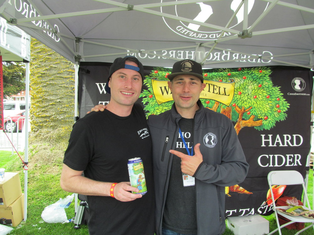 Nice cider company run by brothers Paul and Michael Scotto in Lodi, CA.
