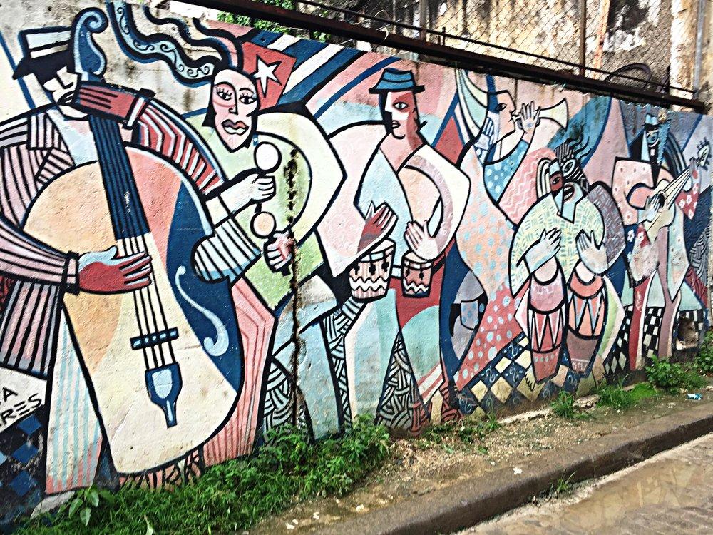 Fantastic mural near our Casa Particular