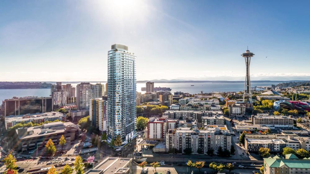 Spire - 西雅图首发, cbd最高性价比新盘,毫无遮挡的永恒美景$45万起
