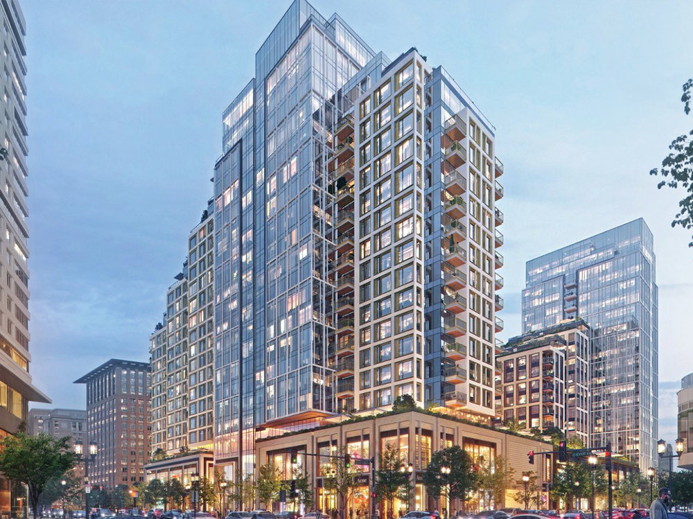 Echelon - 波士顿海港城,黄金地段高档公寓