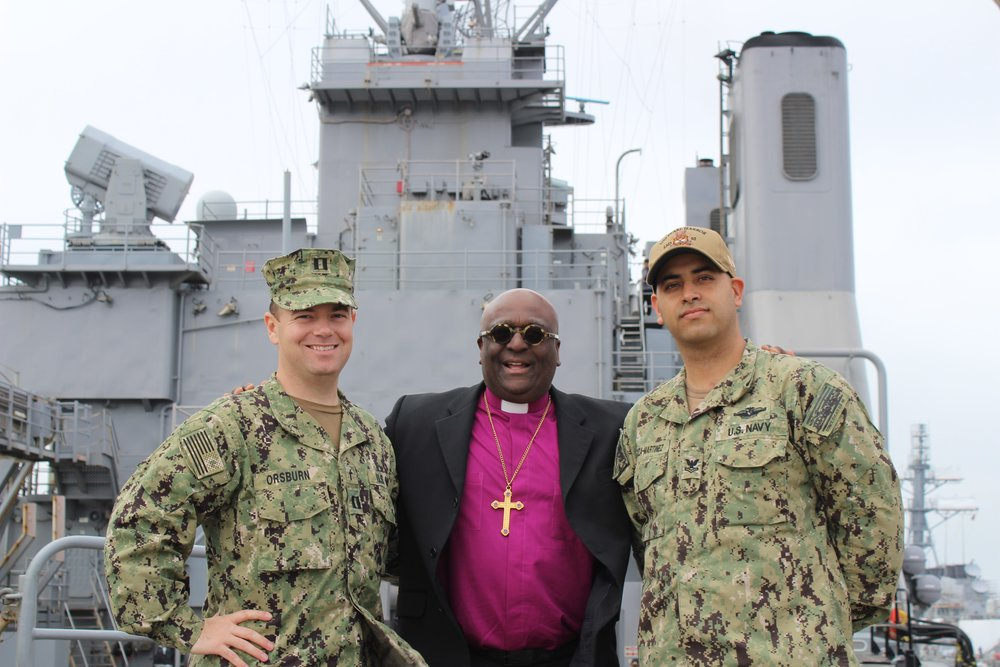 The Rt. Rev. Carl W. Wright, VII Bishop for the Armed Forces and Federal Ministries