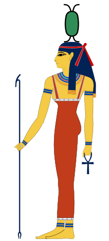 The goddess Neith - was the first and the prime creator; the creator of the universe and all it contains and she governs how it functions.