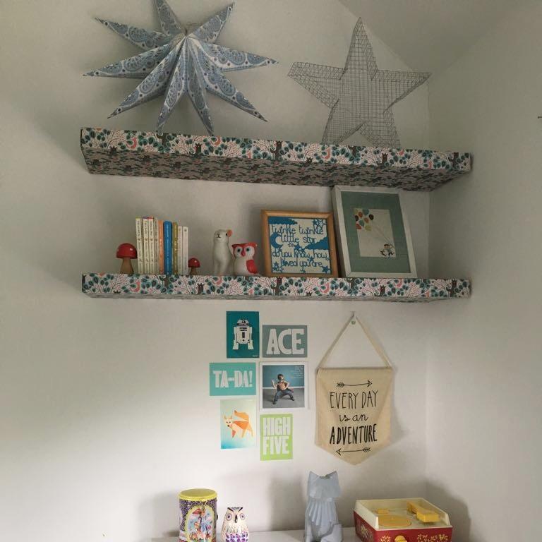 ...and Ikea lack shelves