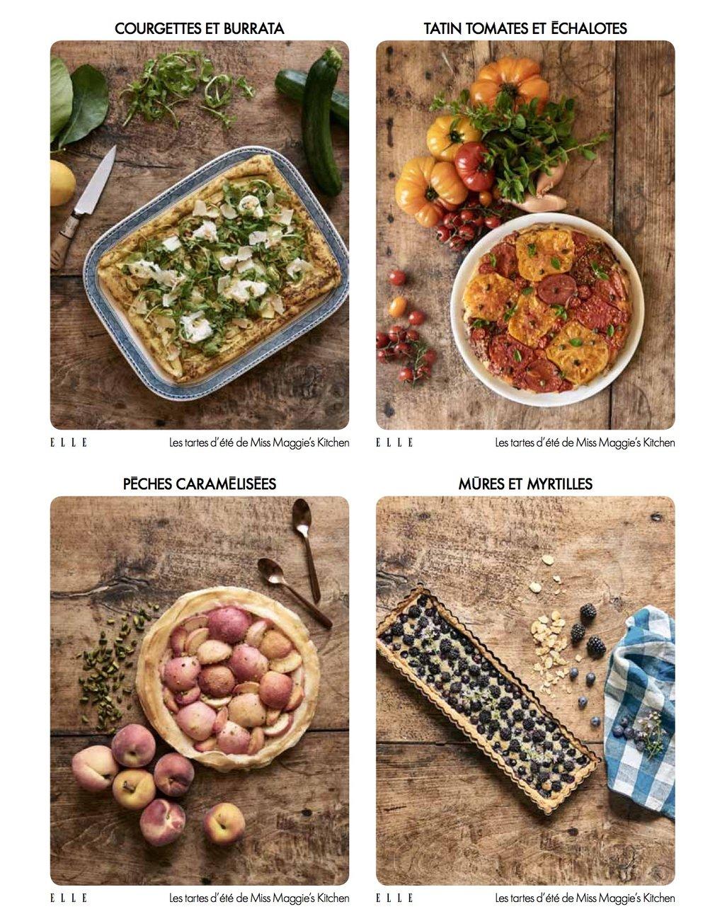 ELLE France - fiches recettes Juin 2018 -