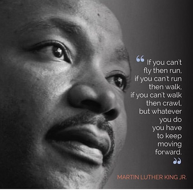 We hope you are reflecting on this #mlk today. Let him be an inspiration to help you move forward.  Image from @studio325nj