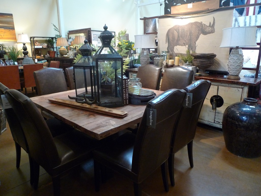 a square dining table is so interesting! — Bungalow Furniture ...