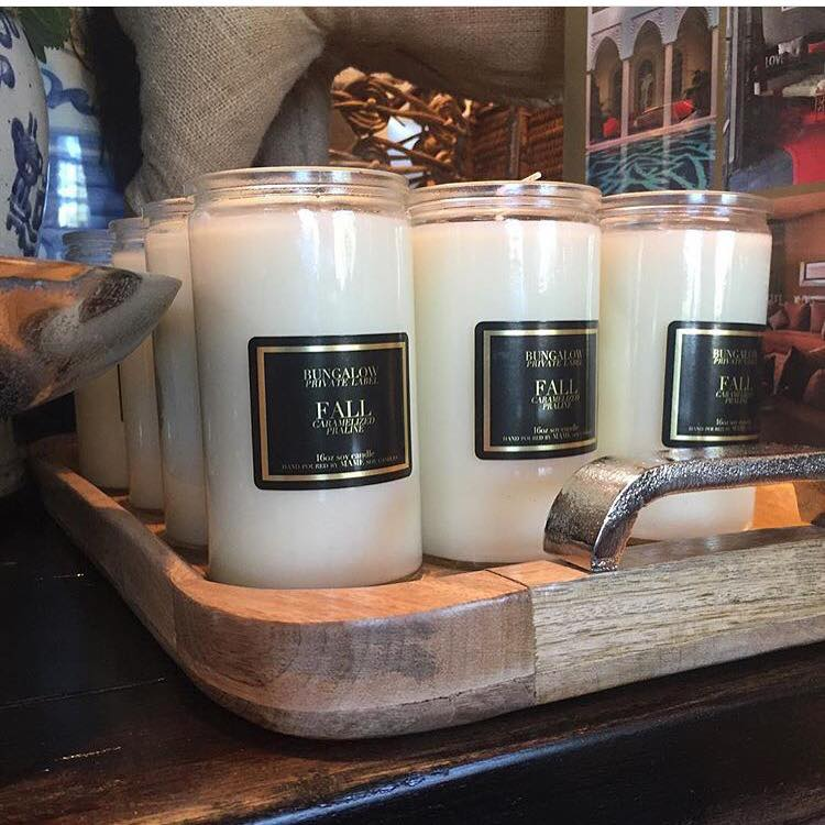 "Bungalow's Exclusive Candle ""Fall"""