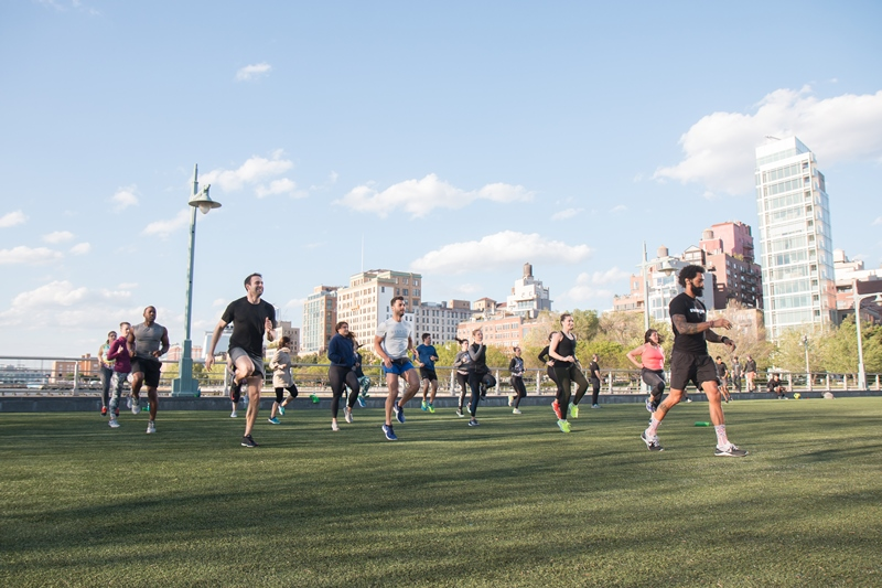A sneak peak of The Games this weekend...Photo Credit: Hudson River Park