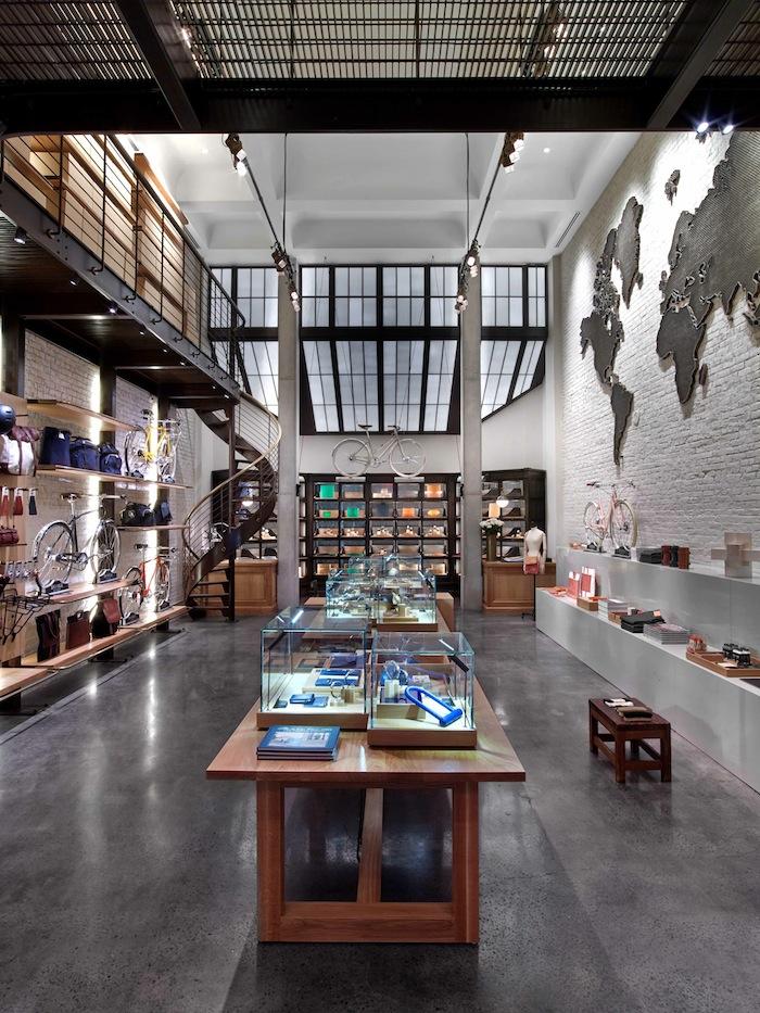 Inside the Shinola flagship store
